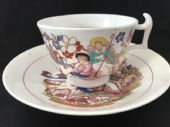 SOLD HILDITCH English shepherds cup & saucer